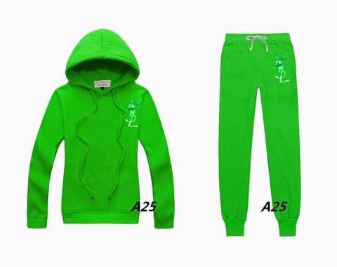 survetement YSL pour femme,jogging YSLhomme,jogging velours